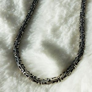 Sterling Silver bold necklace